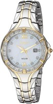Seiko Women's Diamond Accent Two-Tone Bracelet Watch