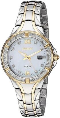 Seiko Women's Diamond Accent Two-Tone Bracelet Watch