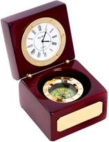 Bey-Berk Boxed Compass and Clock