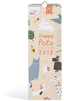 Marks and Spencer Cute Pets 2018 Slim Calendar