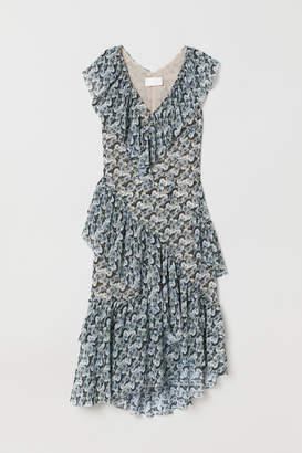 H&M Flounced Dress - Black
