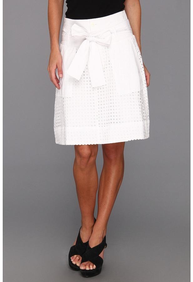 Kenneth Cole New York - Eleni Skirt (White) - Apparel