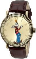 Disney Men's W001845 Goofy Analog Display Quartz Brown Watch