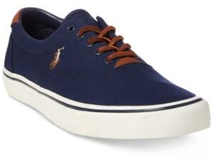 Polo Ralph Lauren Men's Thorton Canvas Low-Top Sneaker Men's Shoes