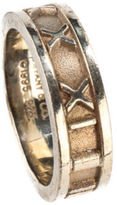 Tiffany & Co. AUTH VINTAGE Sterling Silver Atlas Band Ring Sz 5.5 MHL AP2805