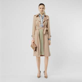 Burberry Silk Satin Trench Coat