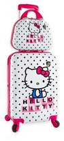 Hello Kitty 2-Piece Luggage and Beauty Case Set