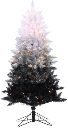 Sterling 5' Vintage Black Ombre Spruce Artificial Christmas Tree