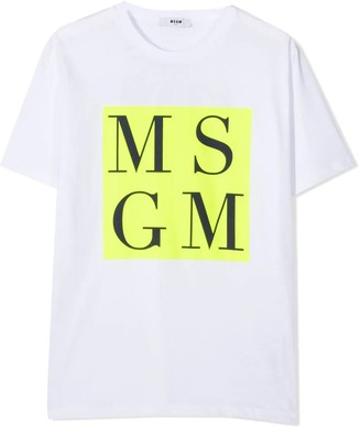 MSGM T-shirt Con Stampa