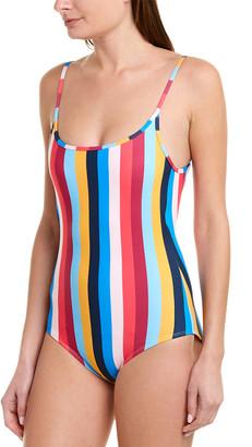 Shoshanna Swimwear Cami Classic One-Piece