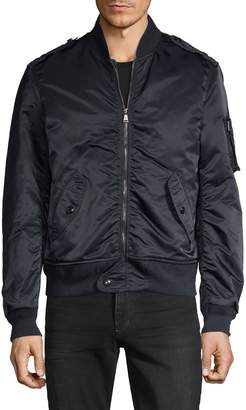 Ralph Lauren Purple Label Ruched Bomber Jacket