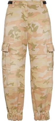 Miu Miu Camouflage Cargo Trousers