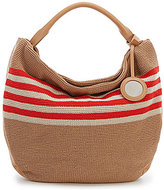 The Sak Collective The 120 Striped Crochet Hobo Bag