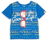 Andy & Evan Toddlers and Little Boys Emoji Tee