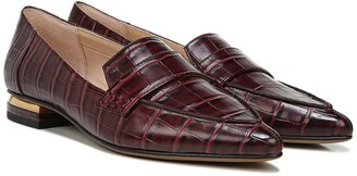 Franco Sarto Sansa Croc Embossed Loafer