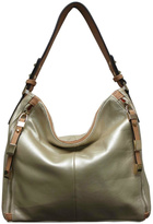 Sondra Roberts Nappa Leather Hobo