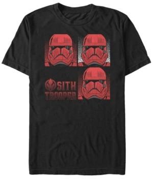 Star Wars Men's Rise Of Skywalker Sith Trooper Box Up Short Sleeve T-Shirt