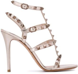 Valentino Rockstud 100mm sandals