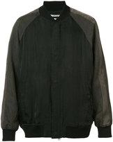 Robert Geller classic bomber jacket - men - Cupro - 50