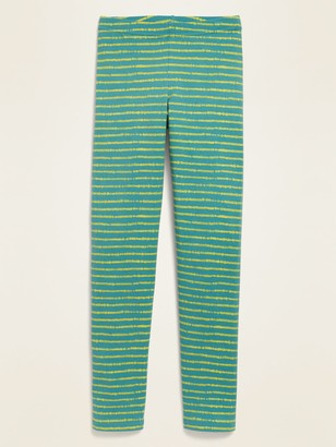 Old Navy Printed Built-In Tough Full-Length Leggings for Girls