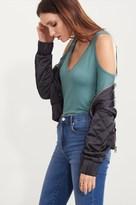 Dynamite Long Sleeve Cold-Shoulder Top