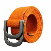 Sitong Unisex casual fashion double loop buckle canvas belt