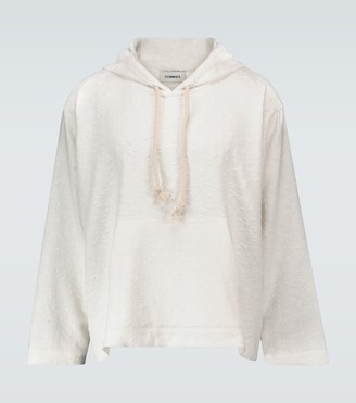 COMMAS Textured hooded sweater