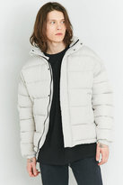 Shore Leave by Urban Outfitters Stone Zip Puffer Jacket