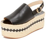 Tory Burch Dandy Platform Espadrille Sandals