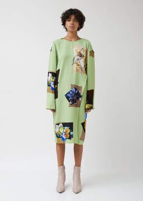 Acne Studios Dirah Printed Crepe Dress