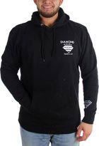 Diamond Supply Co. Mens Fastening Devise Hoodie, Large, Black