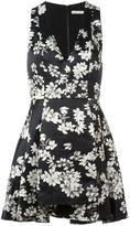 Alice + Olivia Alice+Olivia - flared floral dress - women - Polyester/Spandex/Elastane - 8