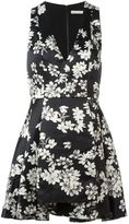 Alice + Olivia Alice+Olivia flared floral dress