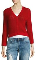 Carolina Herrera Knit V-Neck Cardigan