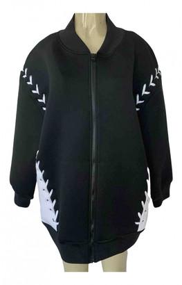 Ivy Park Black Polyester Leather jackets
