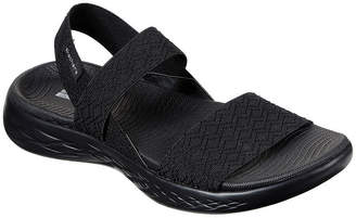 Skechers On-The-Go 600 Girls Trip Womens Footbed Sandals