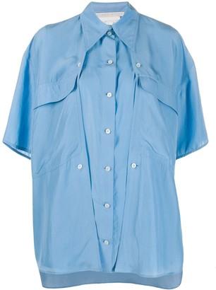 Stella McCartney Oversized Button-Panel Shirt