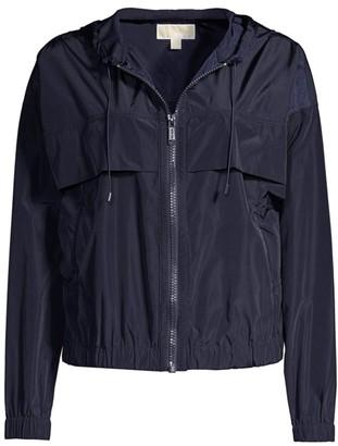 MICHAEL Michael Kors Memory Nylon Windbreaker Jacket