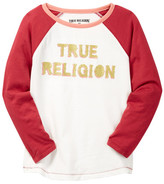 True Religion Long Sleeve Raglan Tee (Big Girls)
