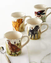 Vietri 4 Assorted Wildlife Mugs