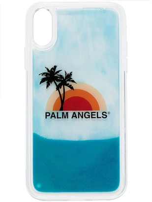 Palm Angels sunset print iPhone XR case