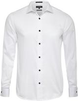 Oxford Islington Frenchcuff Shirt Whitex