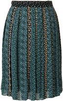 Proenza Schouler mini floral print pleated skirt