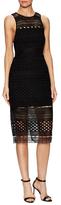 Style Stalker Harper Mesh Midi Dress