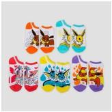 Pokemon Women's Low-Cut 5-Pack Socks - Multicolor 9-11