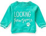 Joules Baby Newborn-12 Months Higgil Looking Pawsome Pullover Sweatshirt