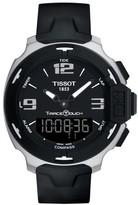Tissot Men's T-Race Touch Multifunction Rubber Strap Watch, 42Mm