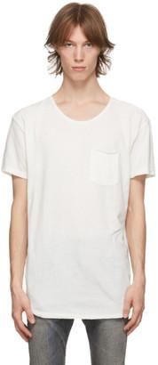 R 13 White Pocket T-Shirt