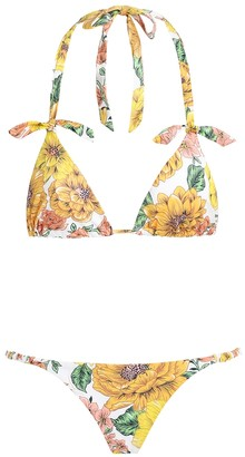 Zimmermann Poppy Cotton Bikini