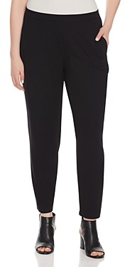 Eileen Fisher, Plus Size System Slim Slouchy Ankle Pants